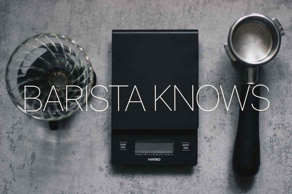 barista knows кофейня why knot