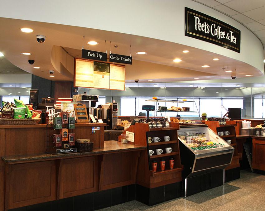 Кофейня Peets Coffee