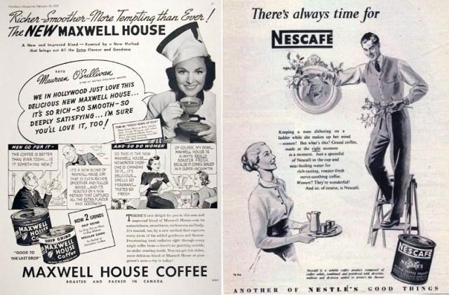 Кофе Maxwell и Nescafe