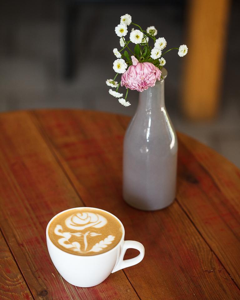 Латте-арт искусство кофейня 26