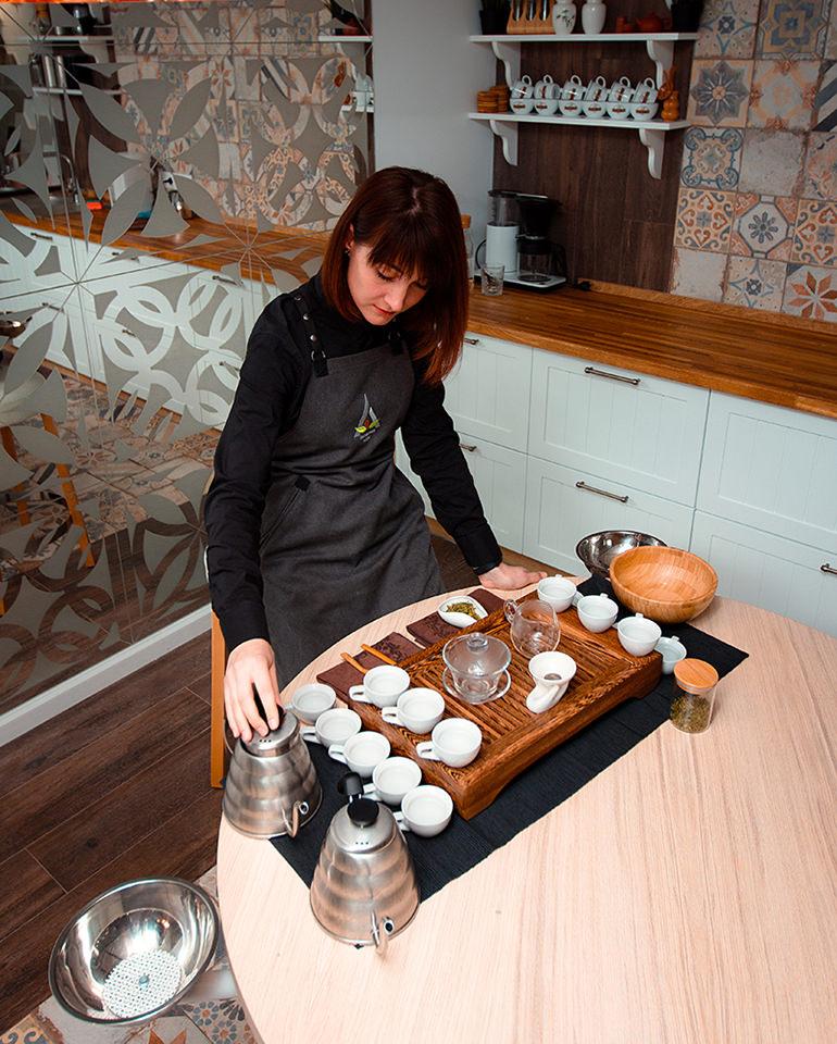 Светлана Веремецко, чайное мастерство.