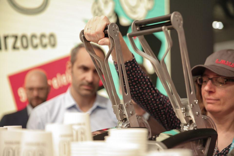 Леверная кофемашина La Marzocco La Leva ручного управления
