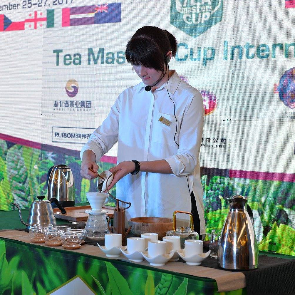 Света Веремецко  - Tea Preparation – International Tea Masters Cup 2017