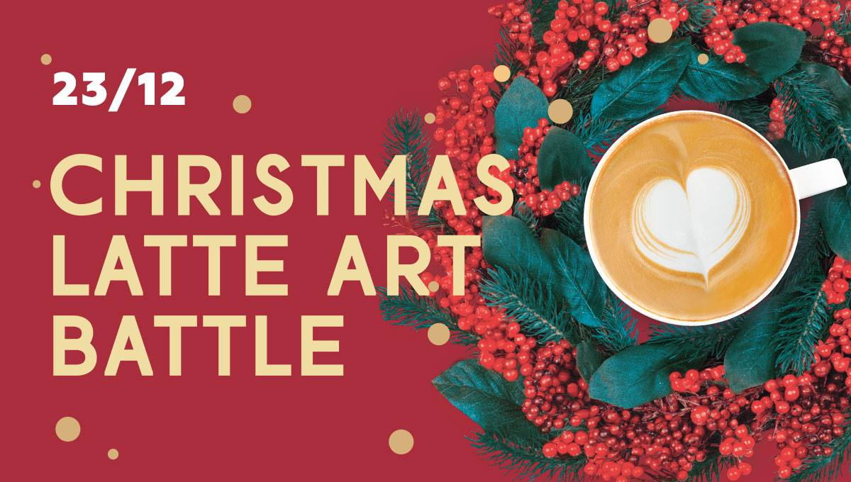 Christmas Latte Art Battle 2017