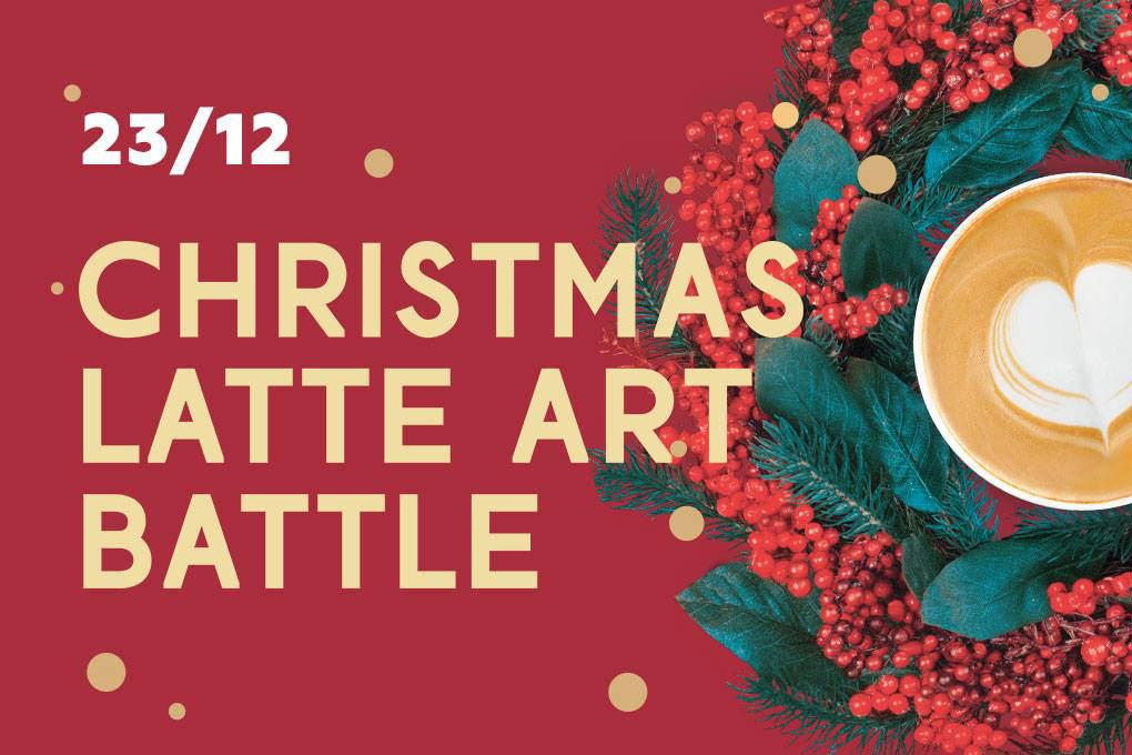 Christmas Latte Art Battle 2017