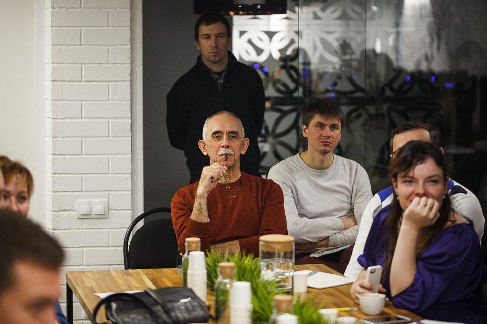 Владимир Шамаев - семинар в академии кофе