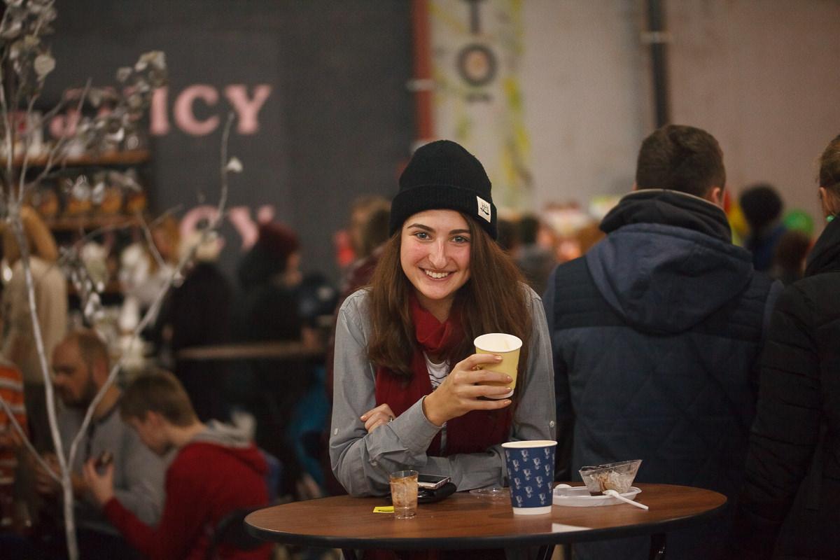 Гости фестиваля шоколада и кофе в Минске
