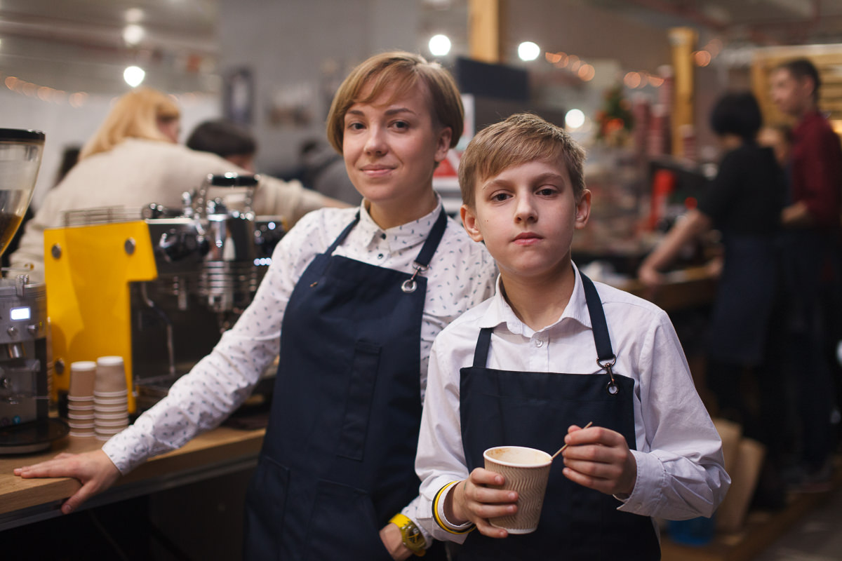 Sorso di Espresso на фестивале шоколада и кофе в Минске