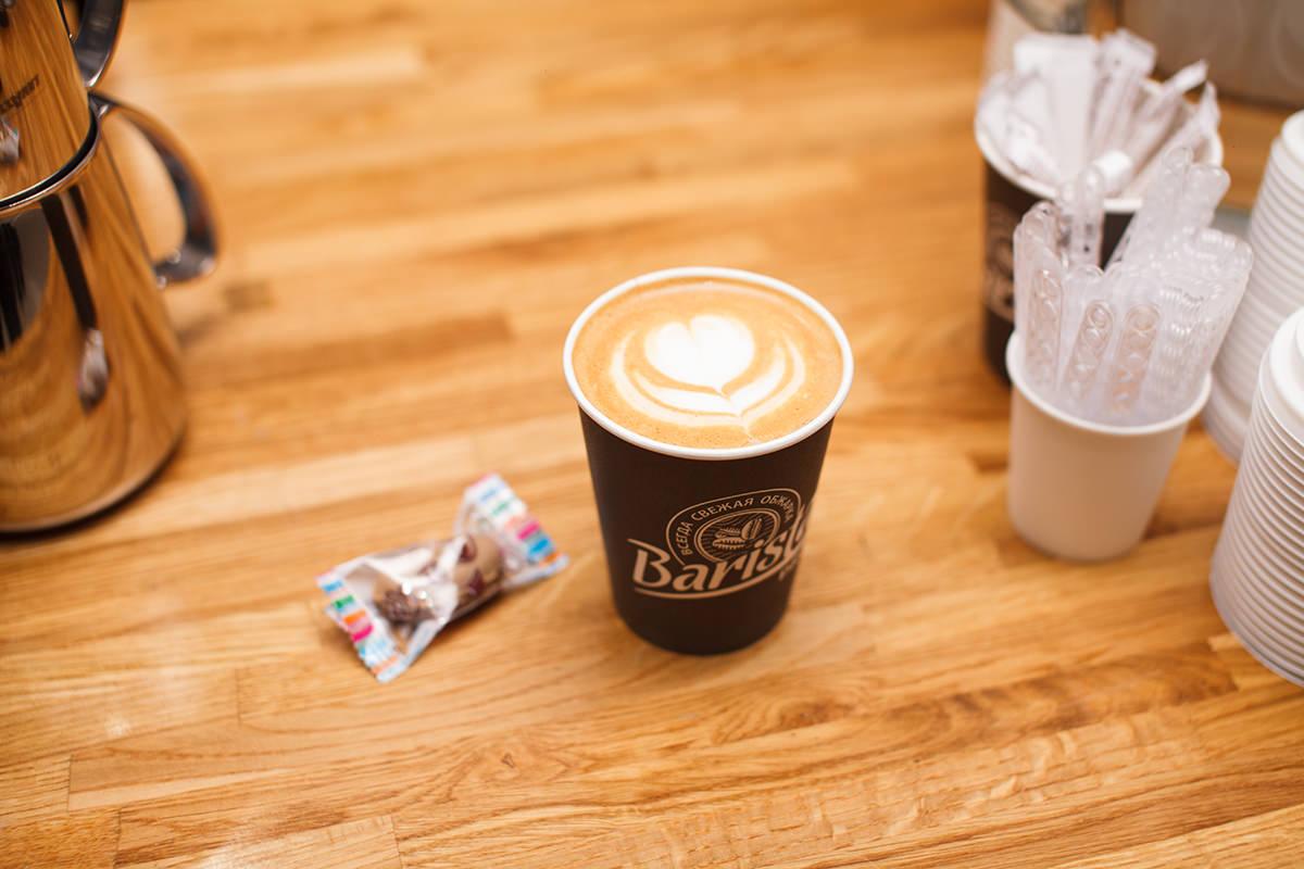 Капучино на фестивале кофе и шоколада