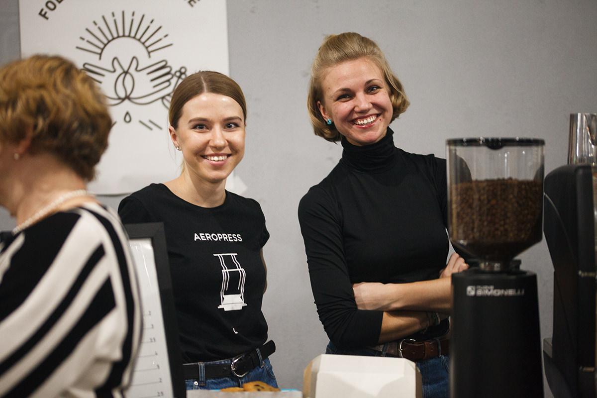 Кофейня WhyKnot первого фестиваля кофе и шоколада
