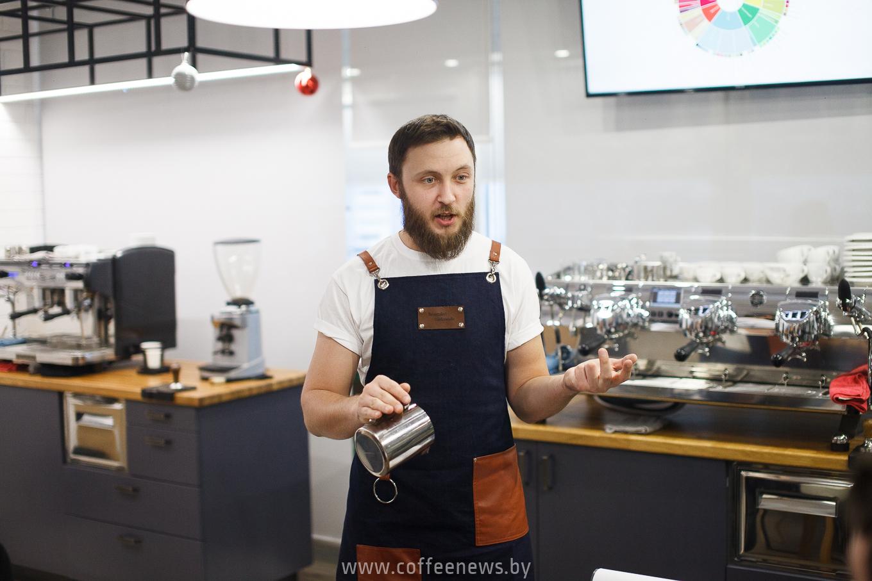 Александр Беницкий - чемпион Украины в категории Латте Арт
