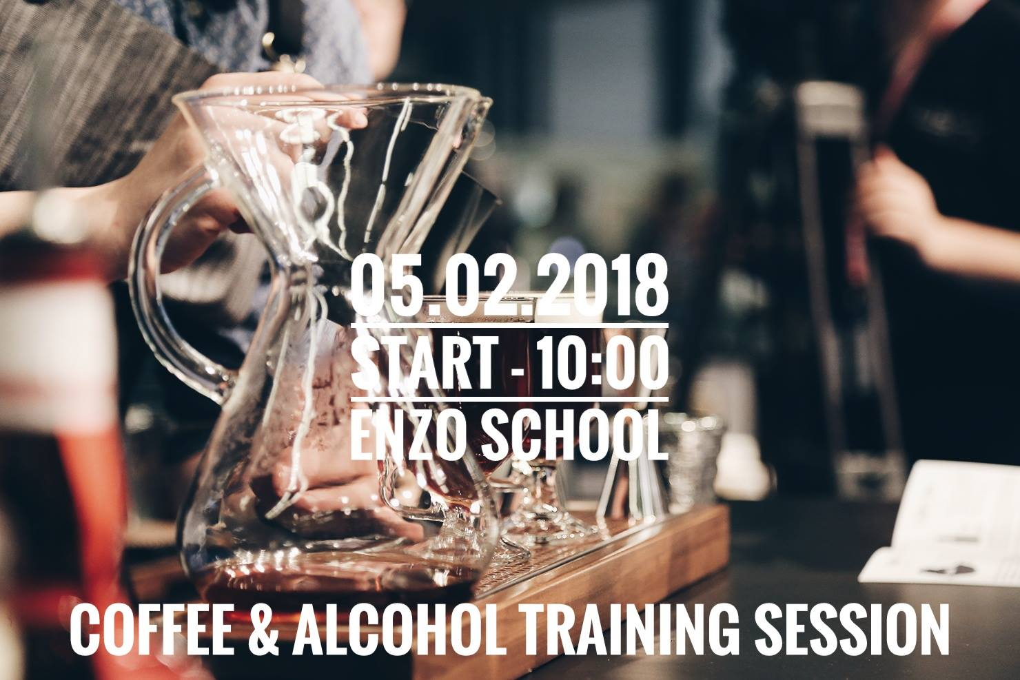 Чемпионат Coffee & Alcohol Training Session