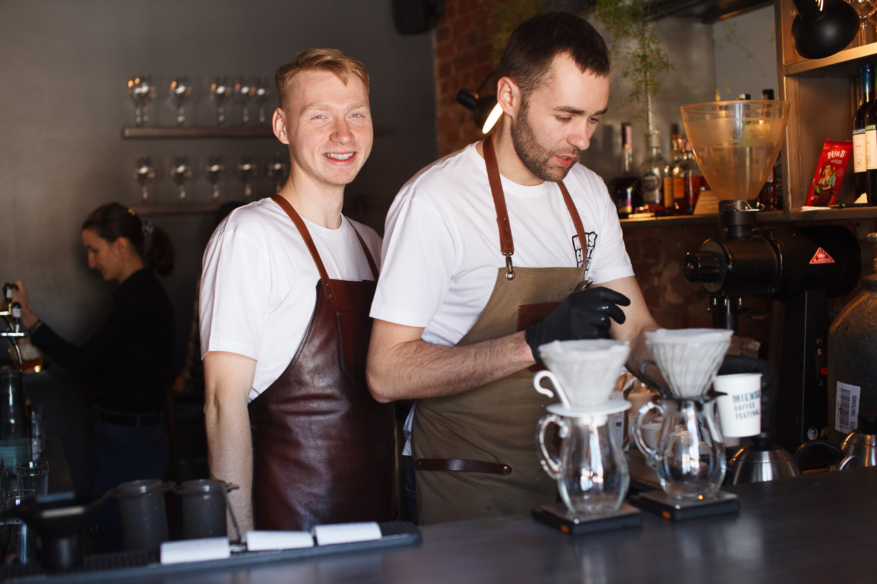 One Love Coffee кофейня на Miensk Coffee Fest