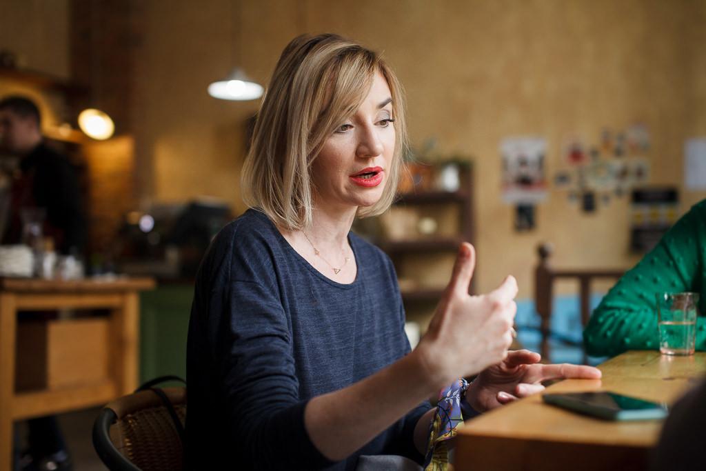 Ania Oleksak интервью с кофе-тренером SCA